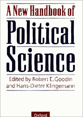 New Handbook of Political Science   1998 (Reprint) edition cover