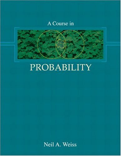 Course in Probability   2006 edition cover
