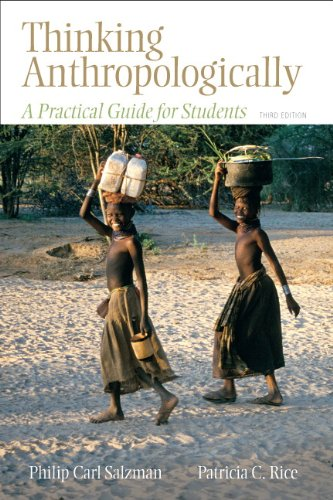 Thinking Anthropologically A Practical Guide for Students 3rd 2011 edition cover