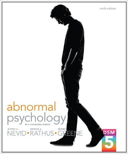Abnormal Psychology in a Changing World  9th 2014 edition cover