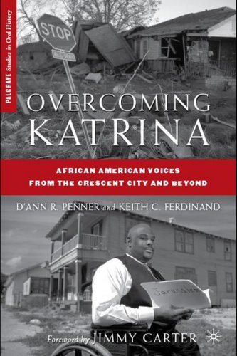 Overcoming Katrina African American Voices from the Crescent City and Beyond  2009 edition cover