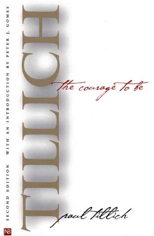 Courage to Be  2nd 2000 edition cover