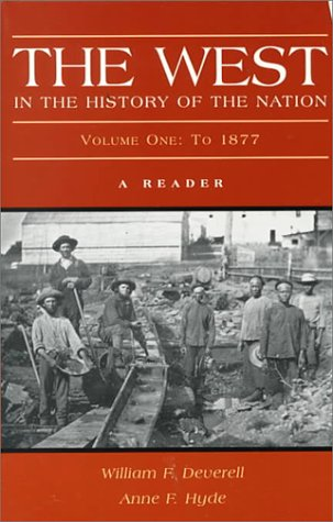 West In the History of the Nation  2000 edition cover