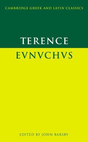 Eunuchus   1999 edition cover