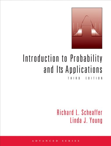 Introduction to Probability and Its Applications  3rd 2010 (Revised) 9780534386719 Front Cover
