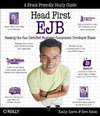 Head First EJB Passing the Sun Certified Business Component Developer Exam  2003 edition cover