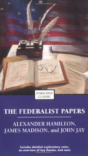 Federalist Papers   2004 9780743487719 Front Cover
