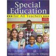 Special Education for All Teachers  5th 2009 (Revised) edition cover