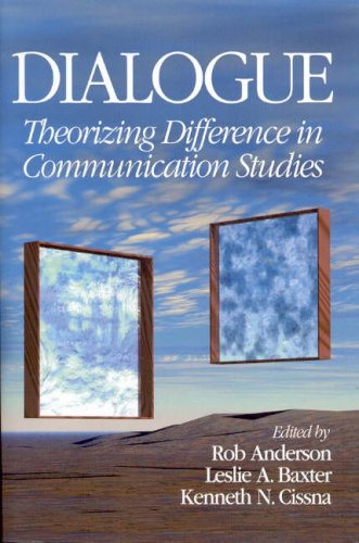 Dialogue Theorizing Difference in Communication Studies  2004 9780761926719 Front Cover