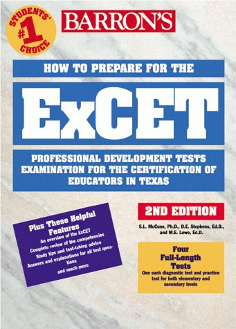 How to Prepare for the EXCET 2nd 1999 9780764107719 Front Cover