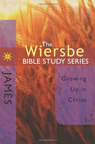 James Growing up in Christ N/A edition cover
