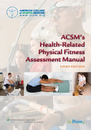 ACSM's Health-Related Physical Fitness Assessment Manual  3rd 2010 (Revised) edition cover