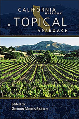 California History A Topical Approach  2003 edition cover
