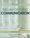 Law of Public Communication 2016 Update 9th 2017 (Revised) 9781138950719 Front Cover