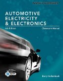 Automotive Electricity and Electronics Classroom and Shop Manual:   2014 edition cover