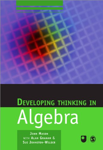 Developing Thinking in Algebra   2005 edition cover