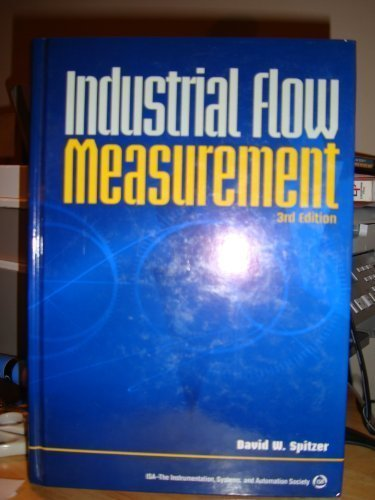 Industrial Flow Measurement 3rd 2004 edition cover