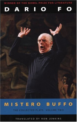 Mistero Buffo The Collected Plays of Dario Fo  2006 edition cover