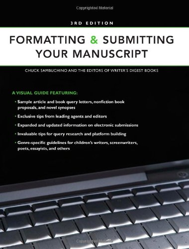 Formatting and Submitting Your Manuscript  3rd 2009 edition cover