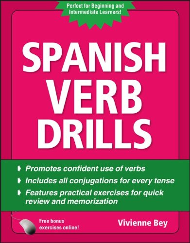 Spanish Verb Drills  4th 2011 edition cover