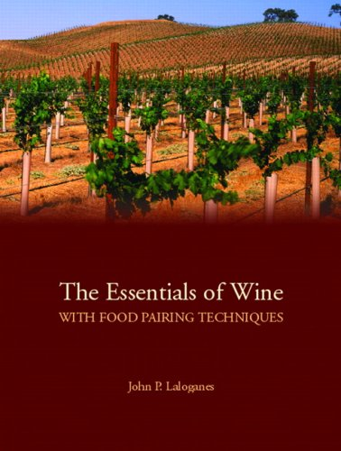 Essentials of Wine With Food Pairing Techniques  2010 edition cover