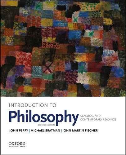 Introduction to Philosophy Classical and Contemporary Readings 8th 2018 9780190698720 Front Cover