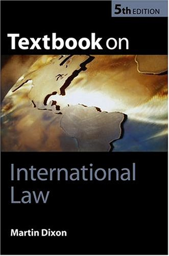 Textbook on International Law  5th 2004 (Revised) edition cover