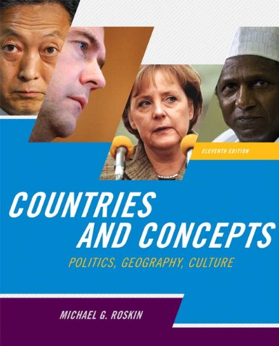 Countries and Concepts Politics, Geography, Culture 11th 2011 edition cover