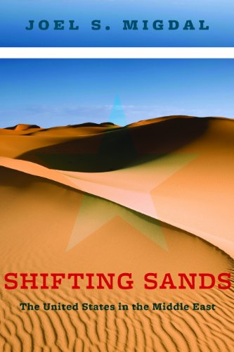 Shifting Sands The United States in the Middle East  2014 9780231166720 Front Cover