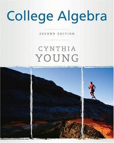 College Algebra  2nd 2009 edition cover