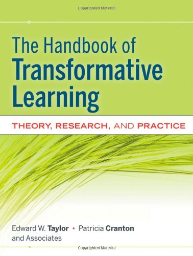 Handbook of Transformative Learning Theory, Research, and Practice  2012 edition cover