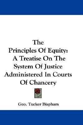 Principles of Equity : A Treatise on the System of Justice Administered in Courts of Chancery N/A edition cover