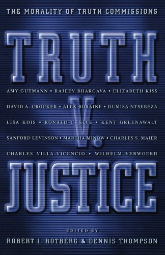 Truth Justice The Morality of Truth Commissions  2000 edition cover
