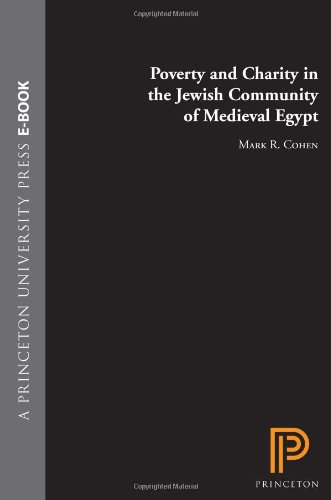 Poverty and Charity in the Jewish Community of Medieval Egypt   2006 edition cover