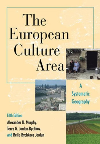 European Culture Area A Systematic Geography 5th 2008 edition cover