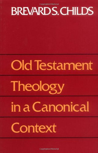 Old Testament Theology in a Canonical Context  1989 edition cover