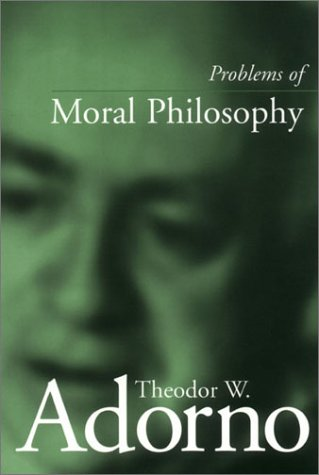 Problems of Moral Philosophy   2000 edition cover
