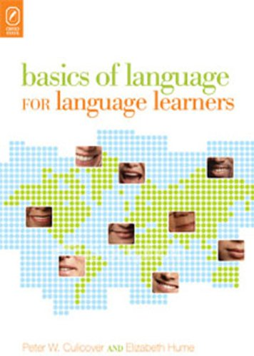 Basics of Language for Language Learners   2010 edition cover