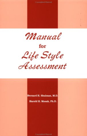 Manual for Life Style Assessment   1988 edition cover