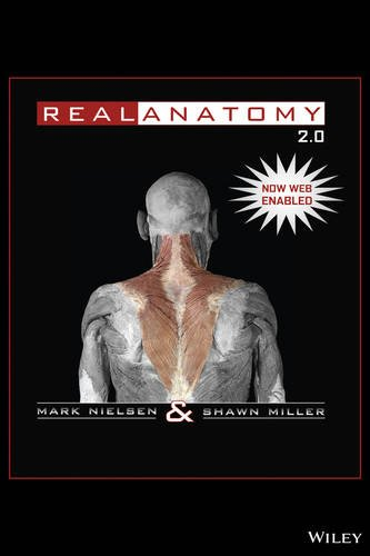 Real Anatomy 2. 0 Web Version  2nd 2012 edition cover