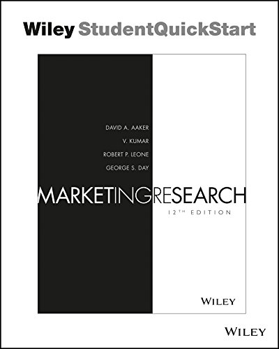 Marketing Research  12th 2016 9781119238720 Front Cover