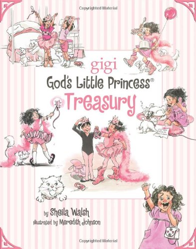 God's Little Princess Treasury   2009 9781400314720 Front Cover