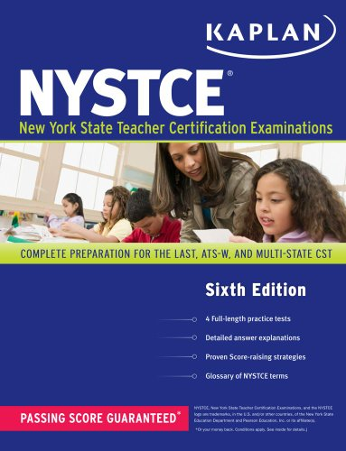 NYSTCE - New York State Teacher Certificate Examination Complete Preparation for the Last, ATS-W, and Multi-Subject CST 6th (Revised) edition cover