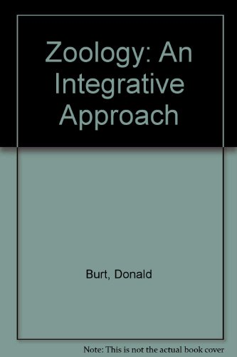 Zoology Laboratory Manual An Integrative Approach Revised edition cover