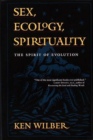 Sex, Ecology, Spirituality The Spirit of Evolution  1995 edition cover