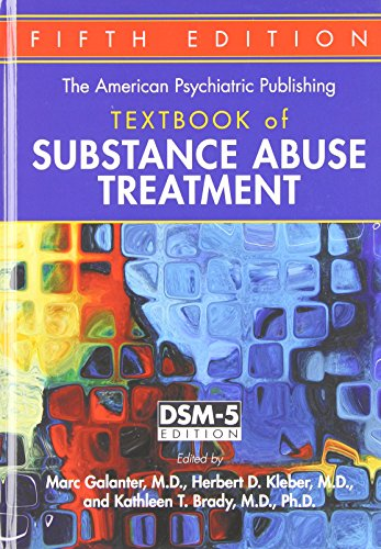 Substance Abuse Treatment  5th 2015 (Revised) edition cover