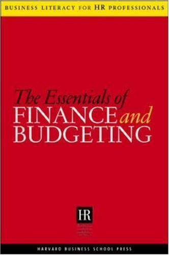 Essentials of Finance and Budgeting   2005 edition cover