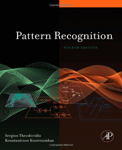 Pattern Recognition  4th 2008 edition cover