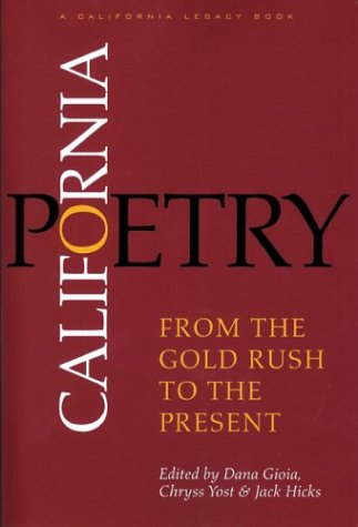 California Poetry From the Gold Rush to the Present  2003 edition cover