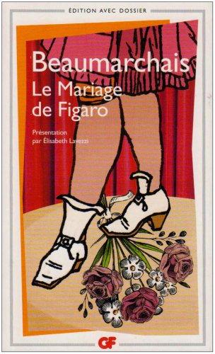 LE MARIAGE DE FIGARO N/A edition cover